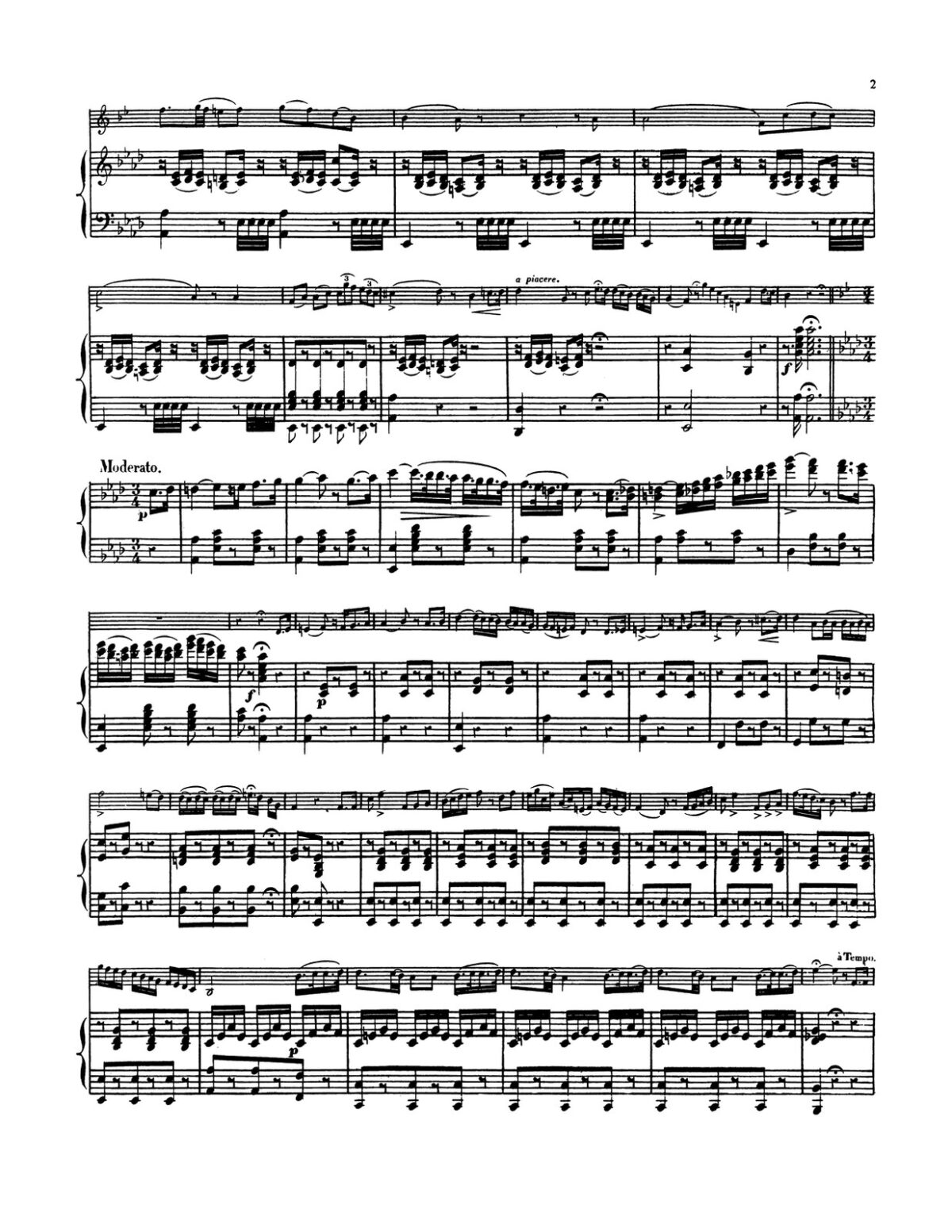 Donizetti arr. Signard, Variations on Cavatine d'Anna Bolena for Trumpet and Piano-p6