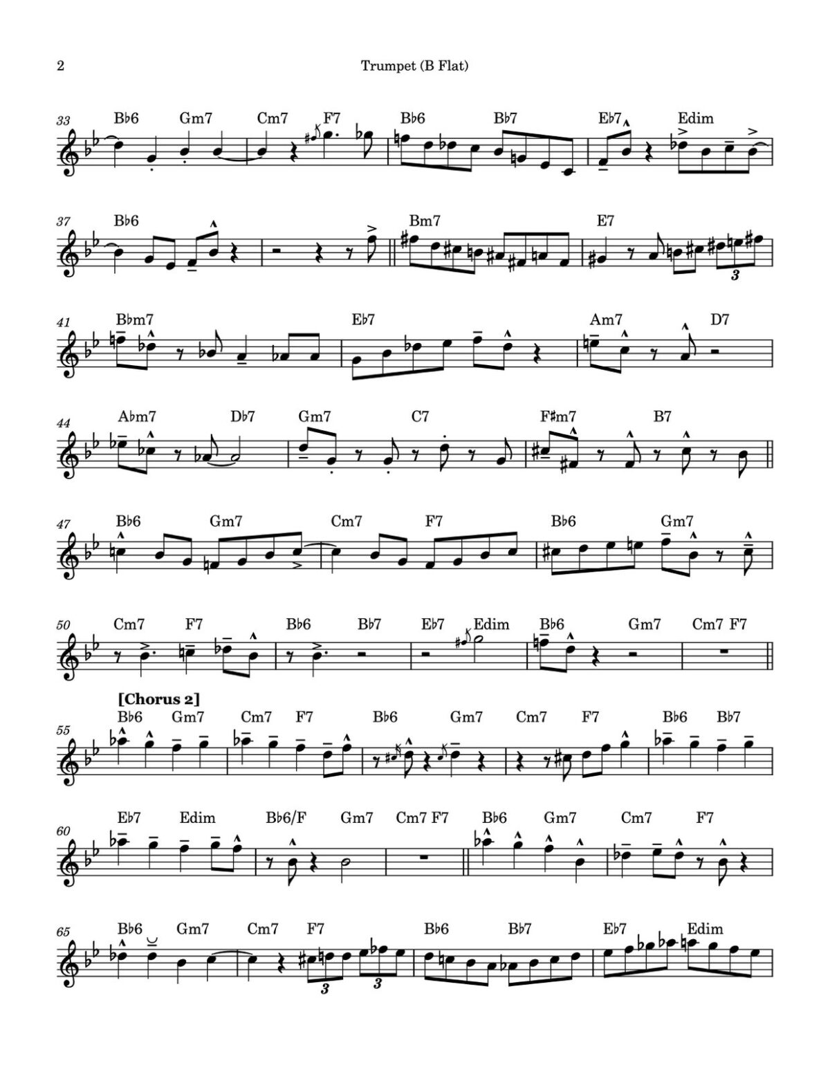 Dorham, Una Mas Complete Album Transcription-p15