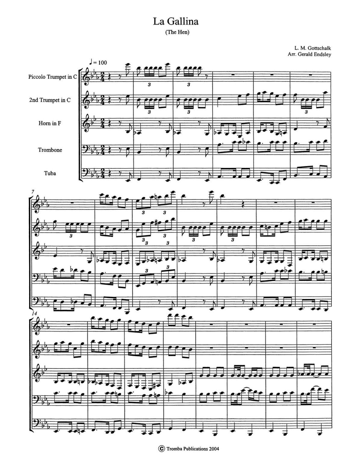Endsley-Gottschalk, The Hen (La Gallina)-p17