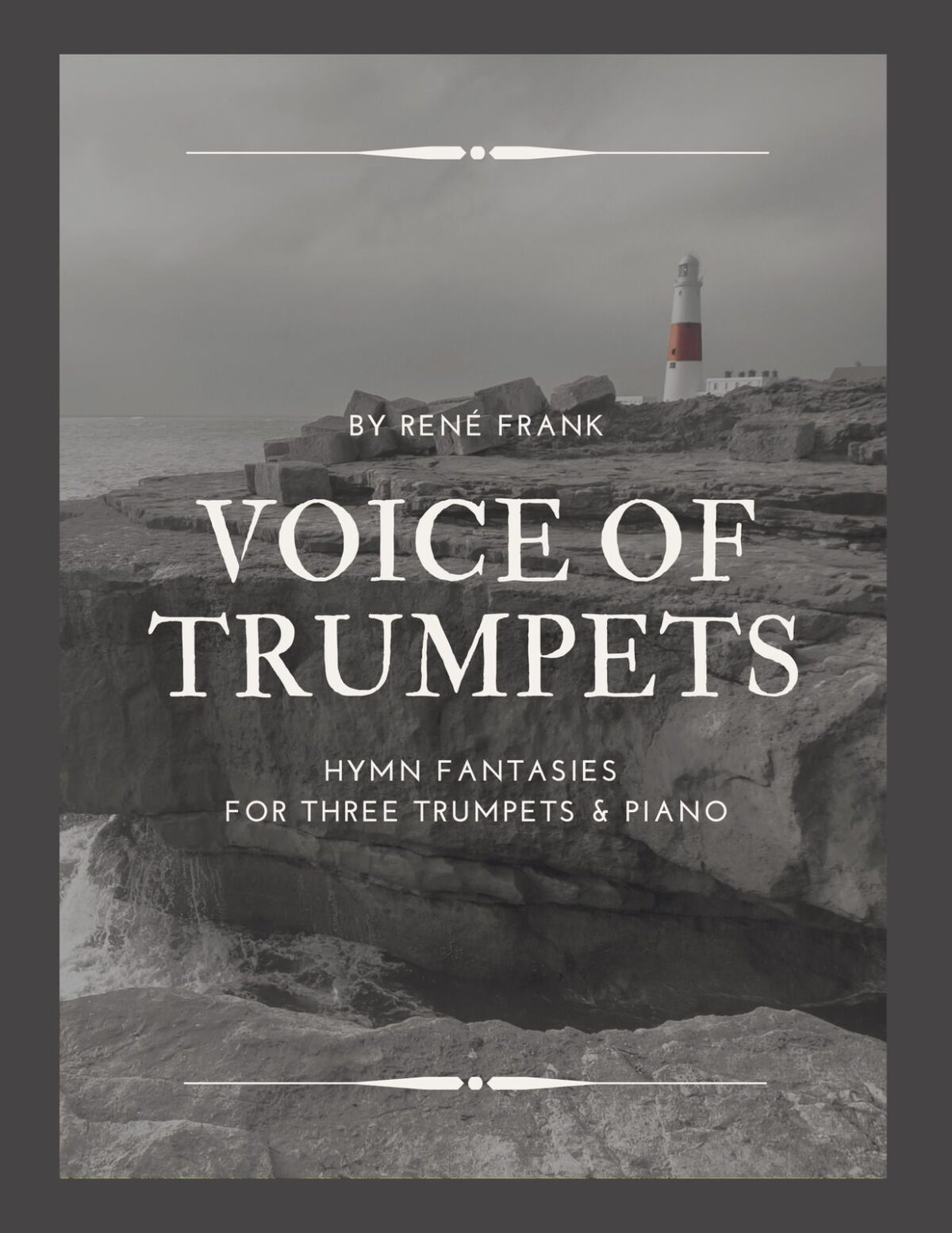 Book Cover Voice of Trumpets, Hymn Fantasies for Three Instruments