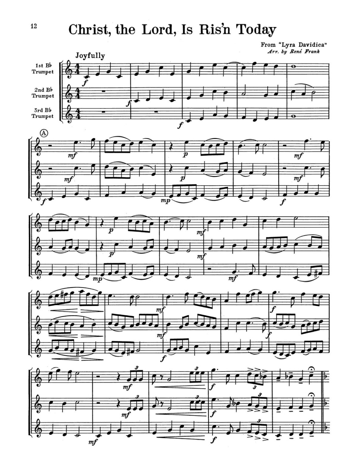 Frank, Voice of Trumpets, Hymn Fantasies for Three Instruments-p16