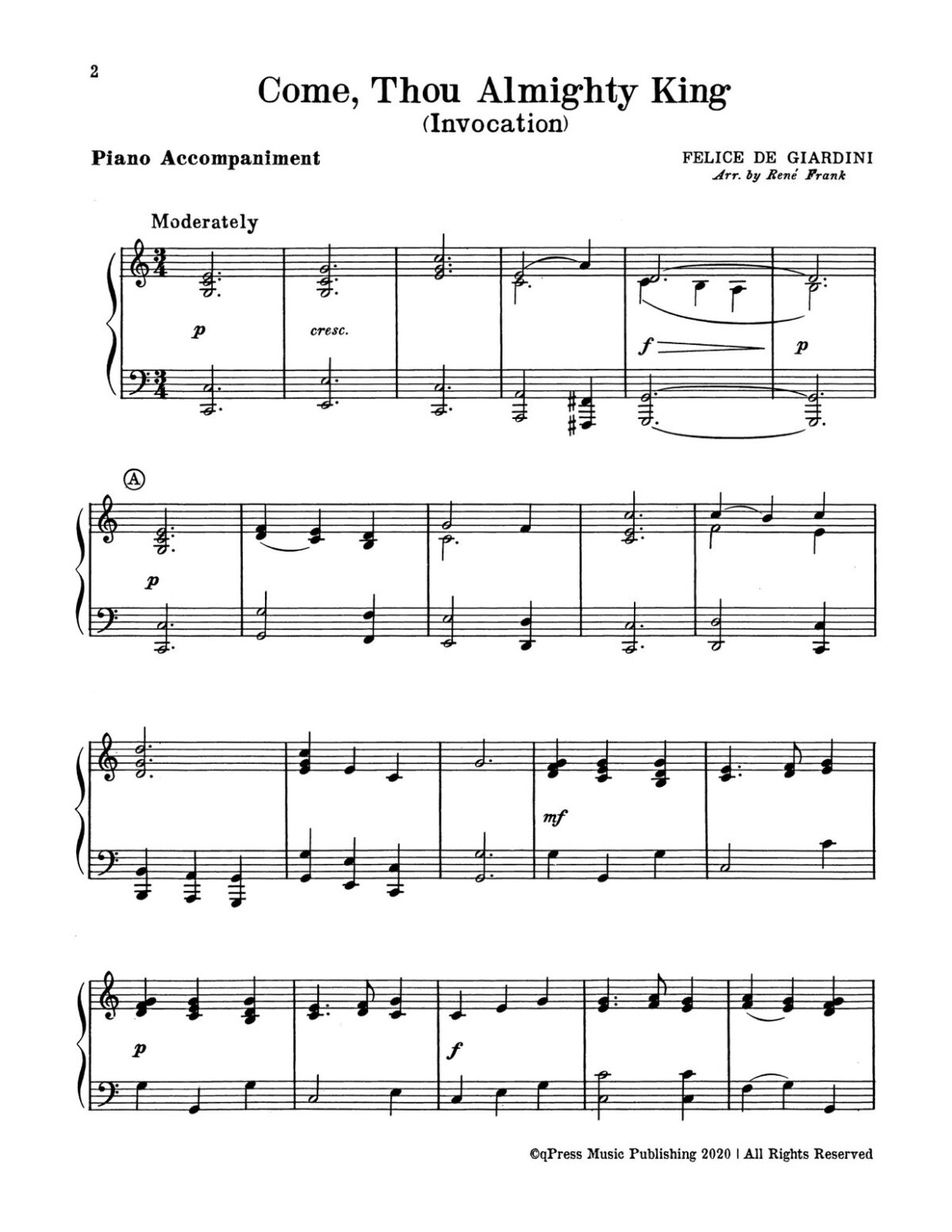 Frank, Voice of Trumpets, Hymn Fantasies for Three Instruments-p30