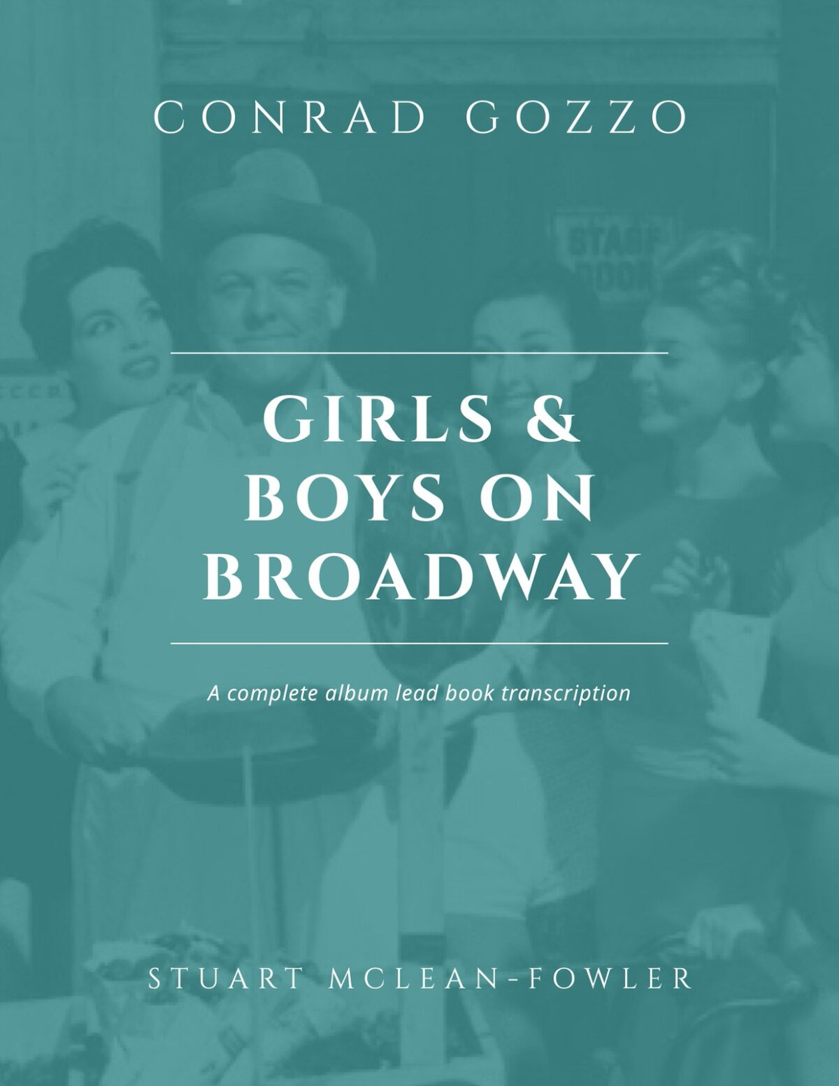 Gozzo, Girls and Boys On Broadway (Lead Book)-p01