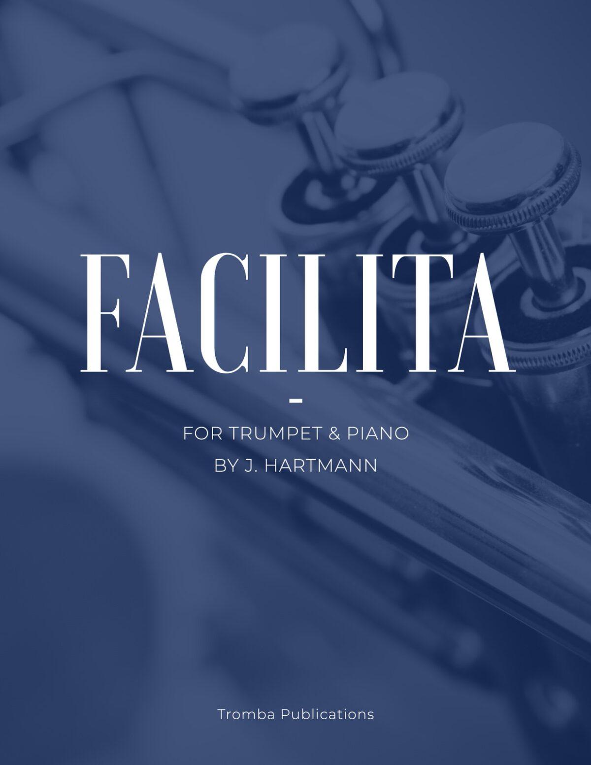 Hartmann, Facilita for Trumpet and Piano-p1