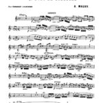 Maury, 1st Solo de Concours for Trumpet and Piano-p03