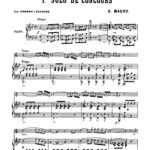 Maury, 1st Solo de Concours for Trumpet and Piano-p08