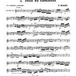 Maury, 2nd Solo de Concours for Trumpet and Piano-p03