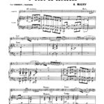 Maury, 3rd Solo de Concours for Trumpet and Piano-p05