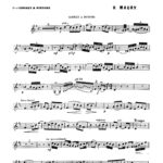 Maury, 4th Solo de Concours for Trumpet and Piano-p03