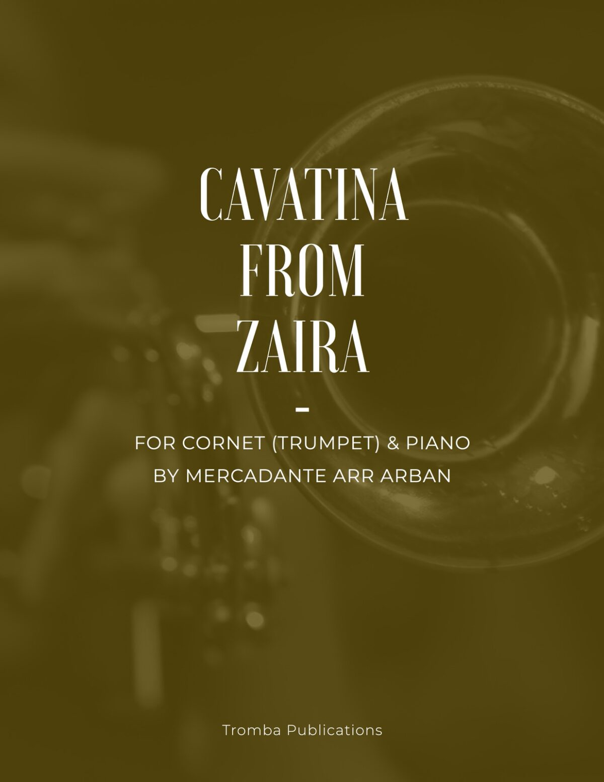 Mercadante arr. Arban, Cavatina from Zaïra-p01