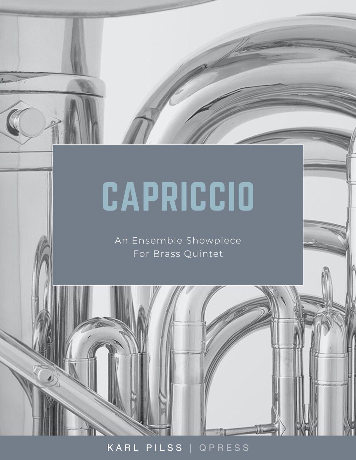 Pilss, Capriccio for Brass Quintet-p01