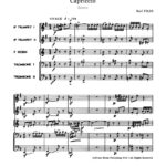 Pilss, Capriccio for Brass Quintet-p27