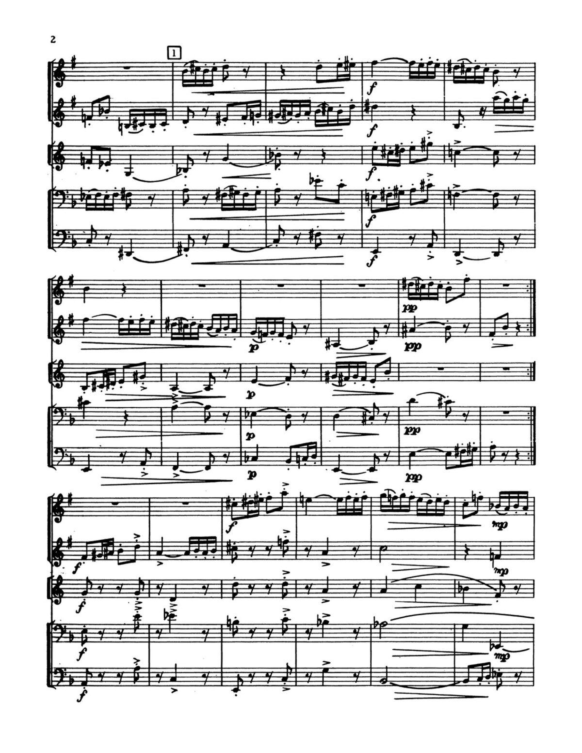 Pilss, Capriccio for Brass Quintet-p28