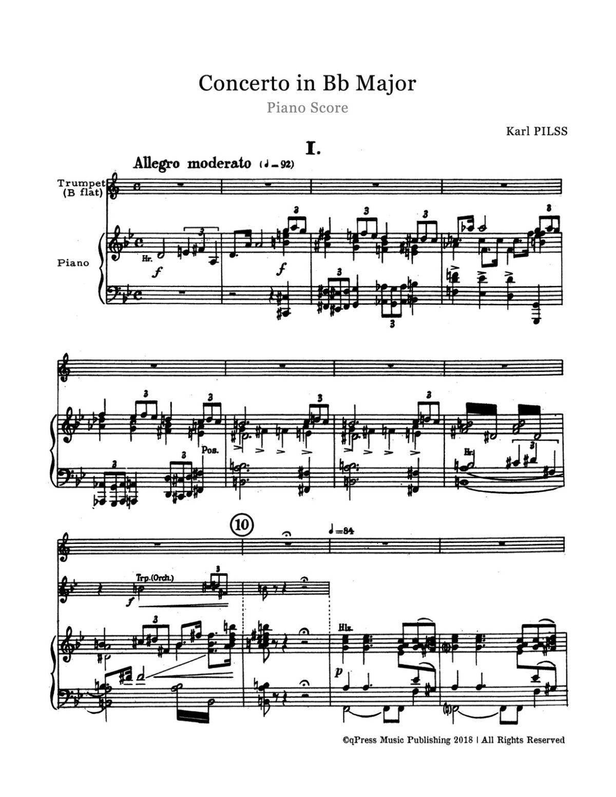 Pilss, Concerto for Trumpet-p13