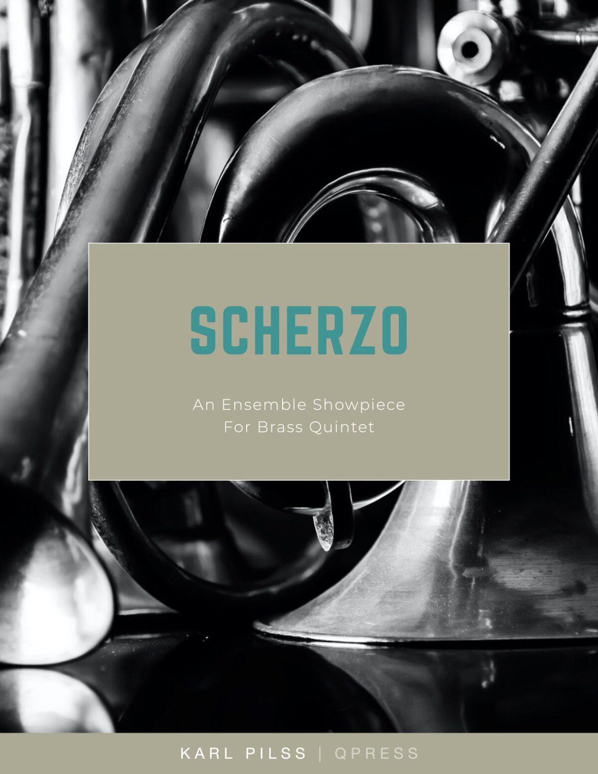 Pilss, Scherzo for Brass Quintet-p01