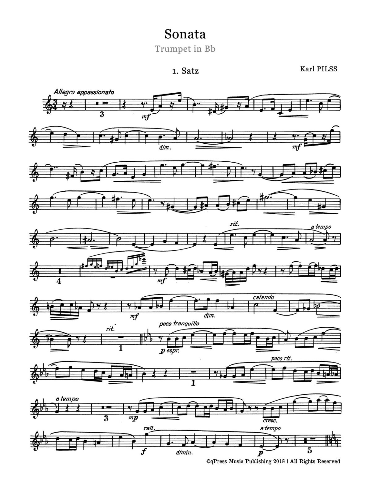 Pilss, Sonata for Trumpet and Piano-p03