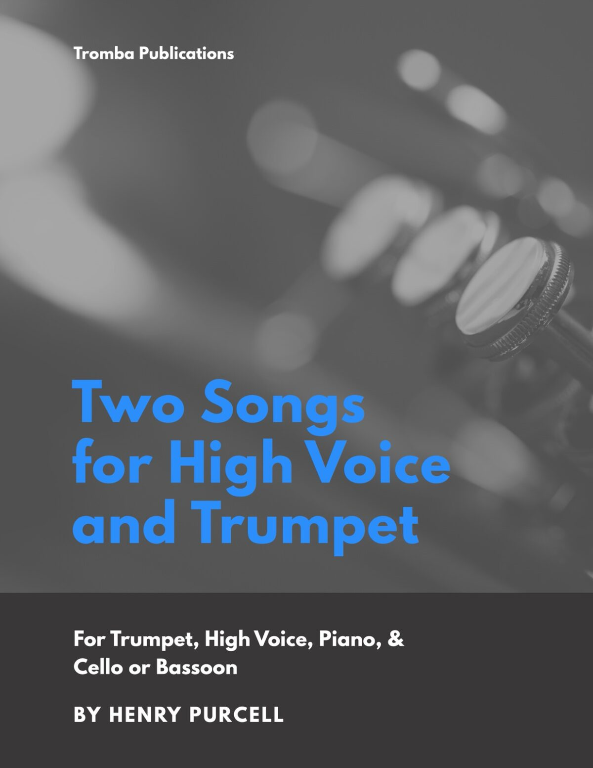 Purcell, Two Songs for High Voice and Trumpet-p01