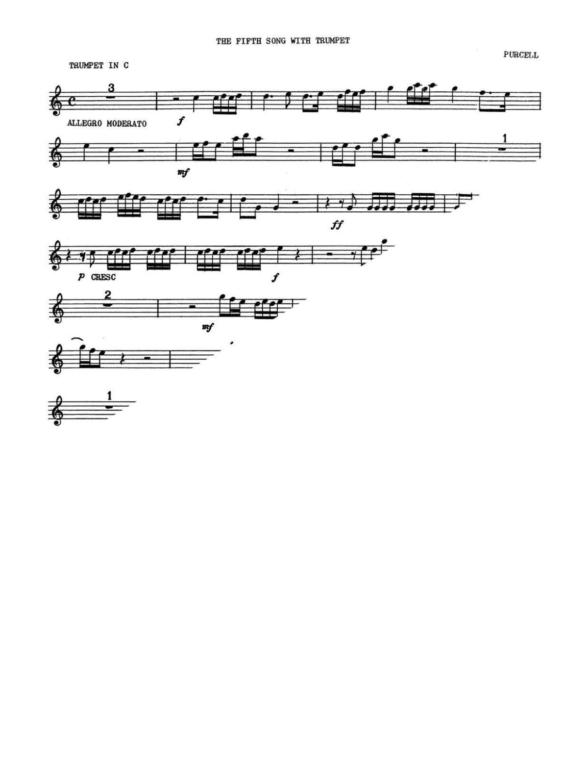 Purcell, Two Songs for High Voice and Trumpet-p03