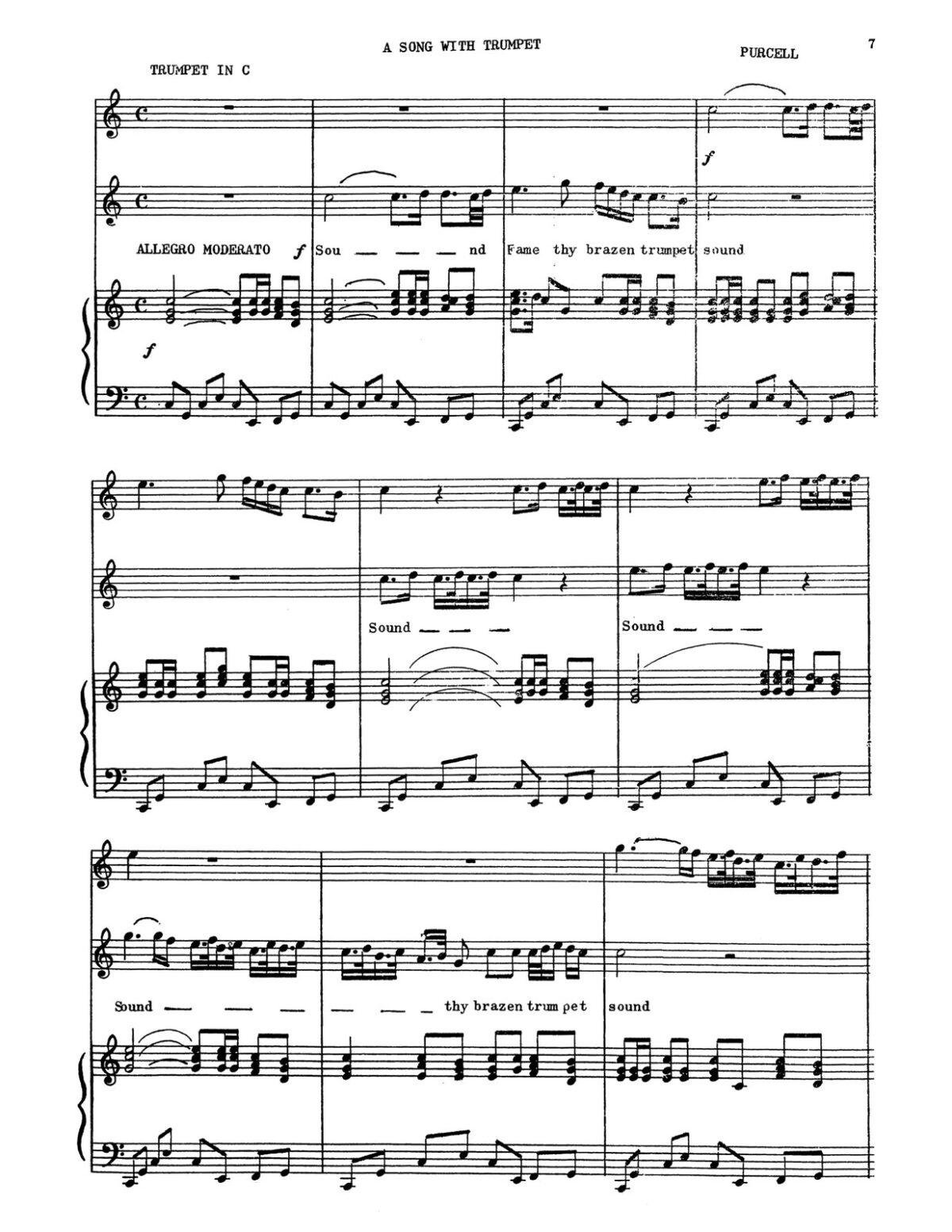 Purcell, Two Songs for High Voice and Trumpet-p13