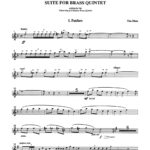 Rhea, Suite for Brass Quintet-p03