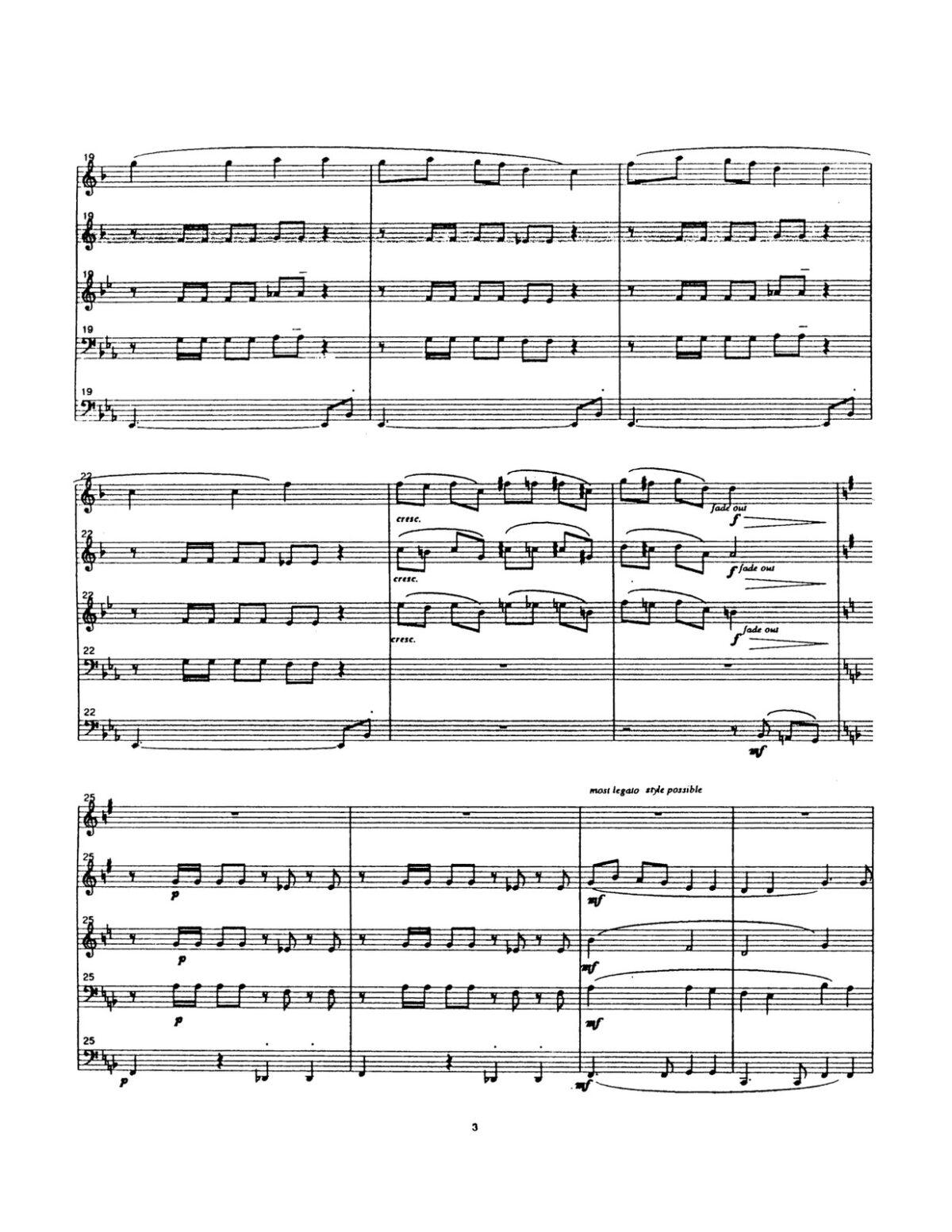 Rhea, Suite for Brass Quintet-p41