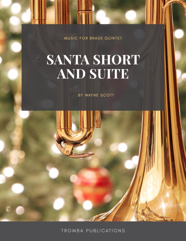 Santa, Short and Suite for Brass Quintet