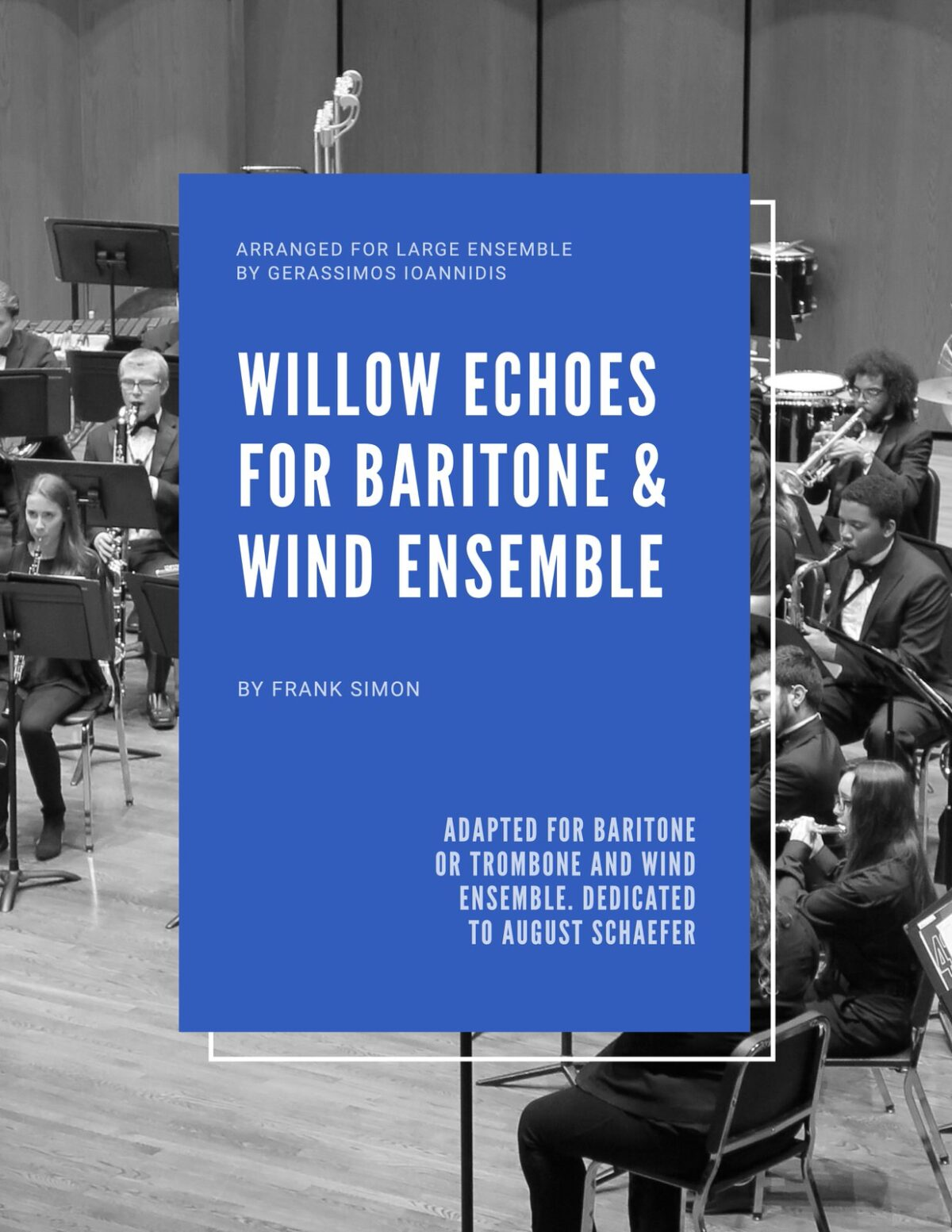 Simon, Willow Echoes for Baritone or Trombone and Wind Ensemble-p01