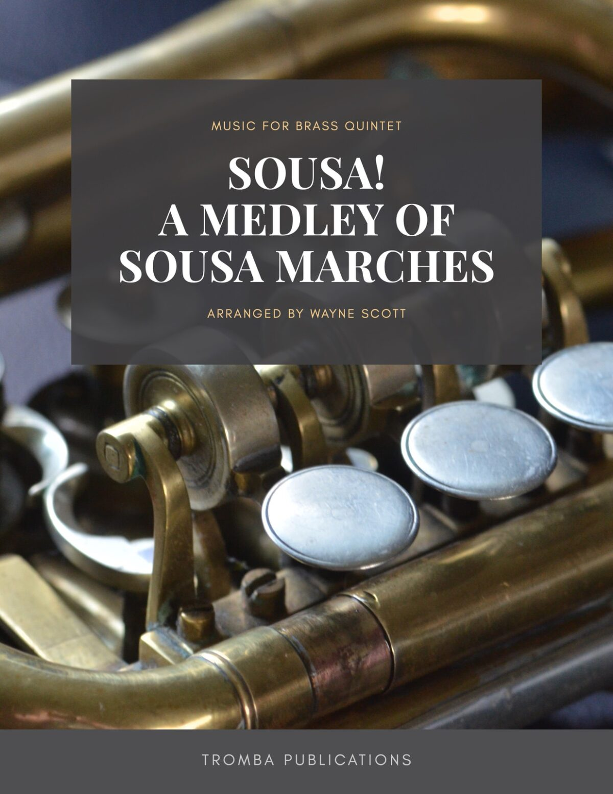 *Sousa arr. Scott, Sousa! for Brass Quintet-p01