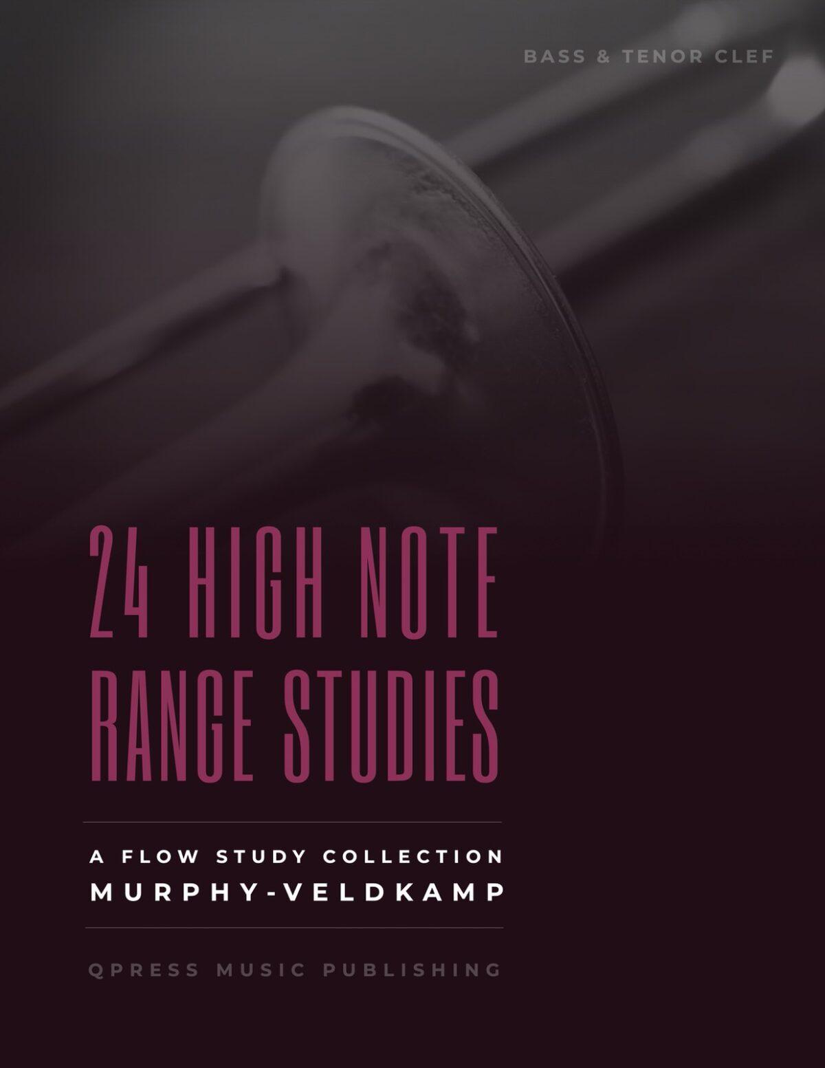Veldkamp, 24 High Range Studies for Trombone-p01