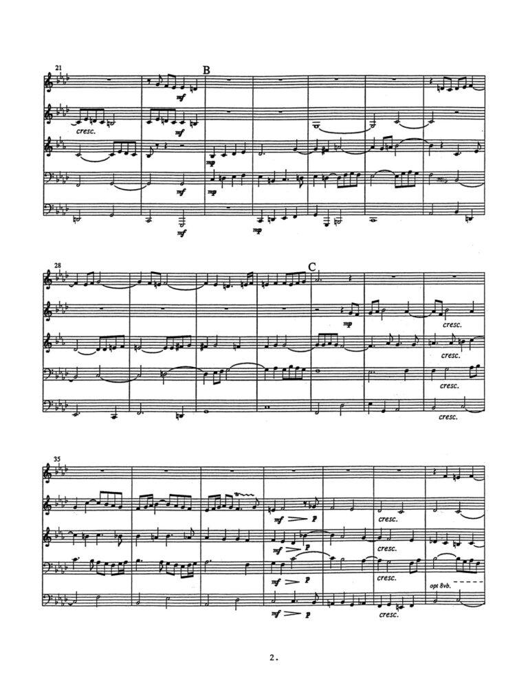 Voluntary for Brass Quintet