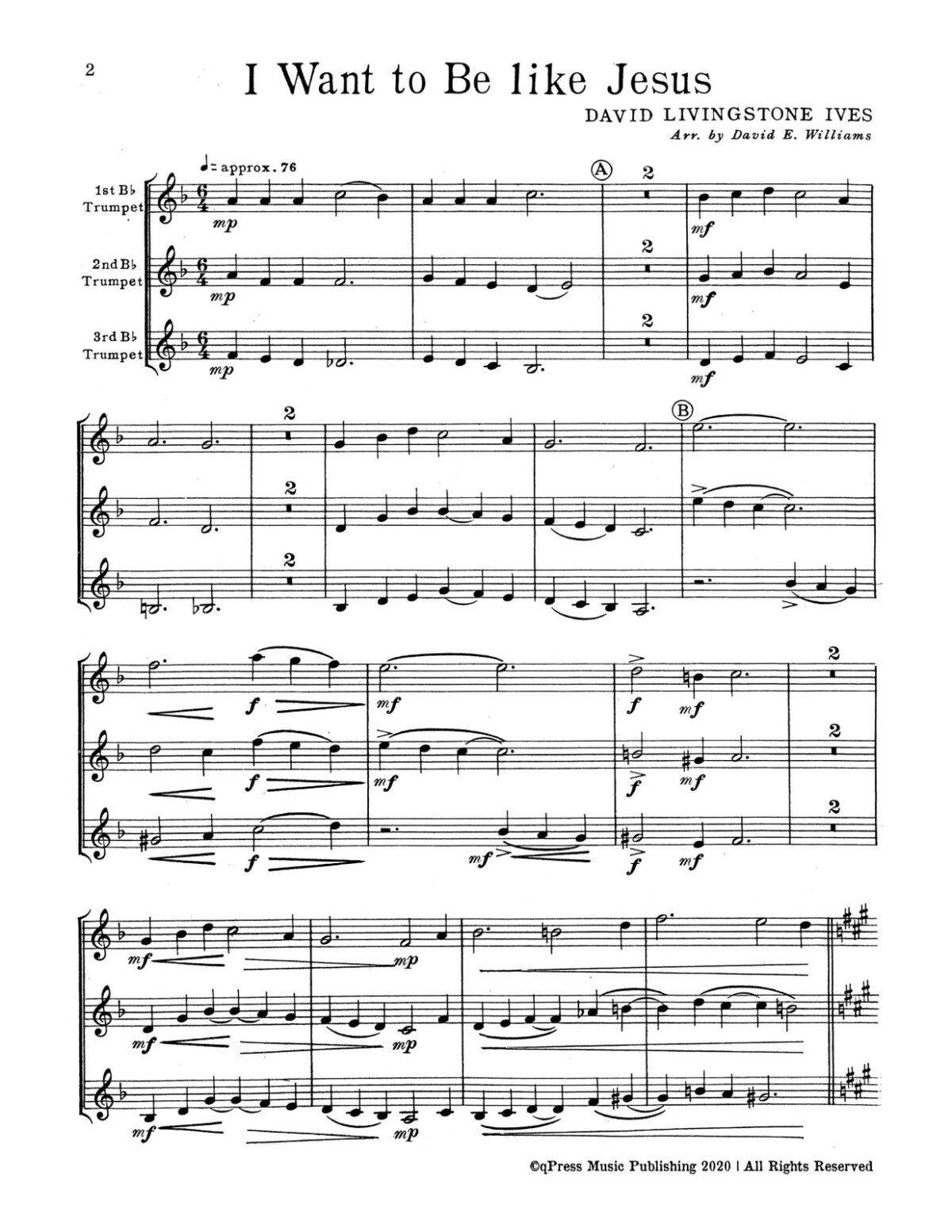 Williams, Devotional Trumpet Trios 1 (Parts & Score)-p04