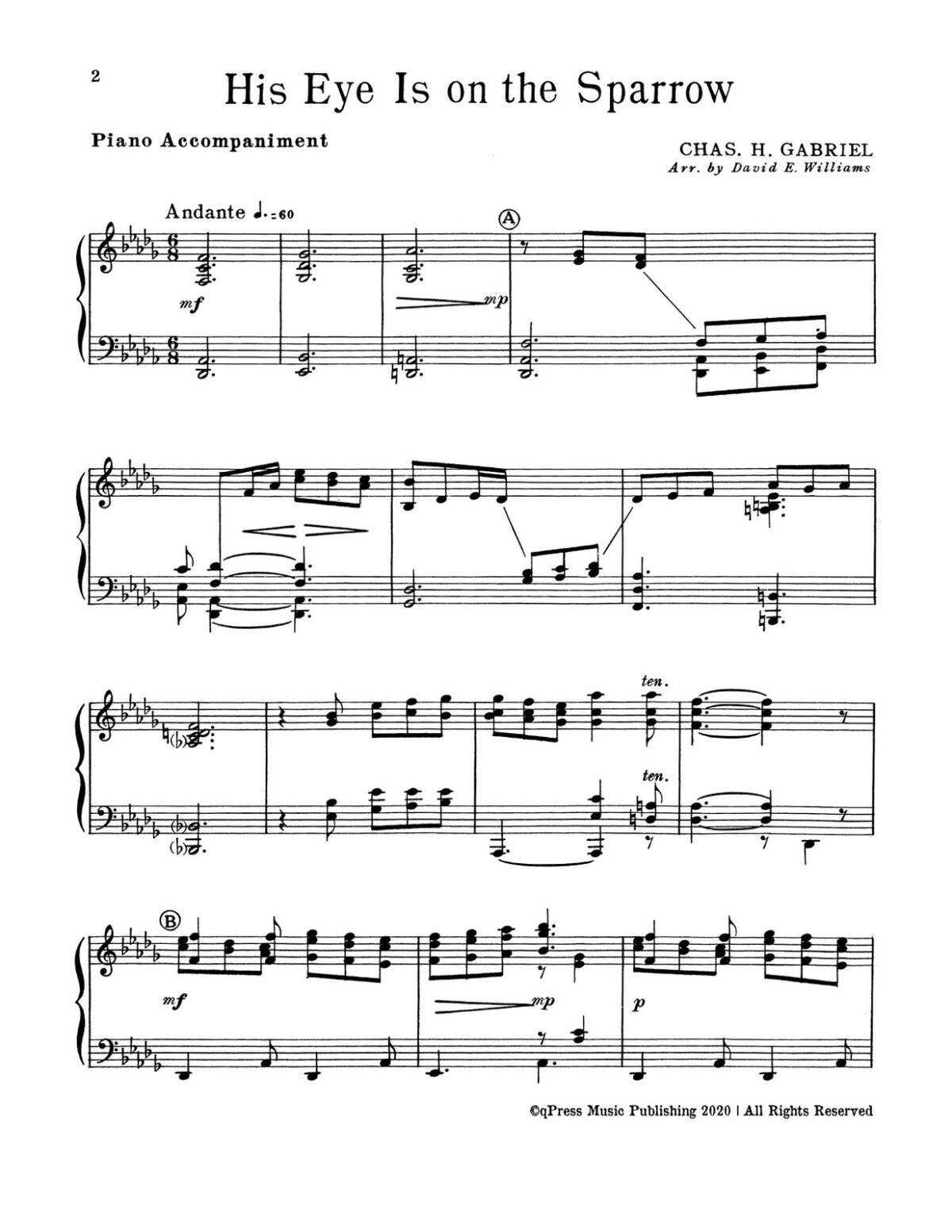 Williams, Devotional Trumpet Trios 2 (Parts & Score)-p20