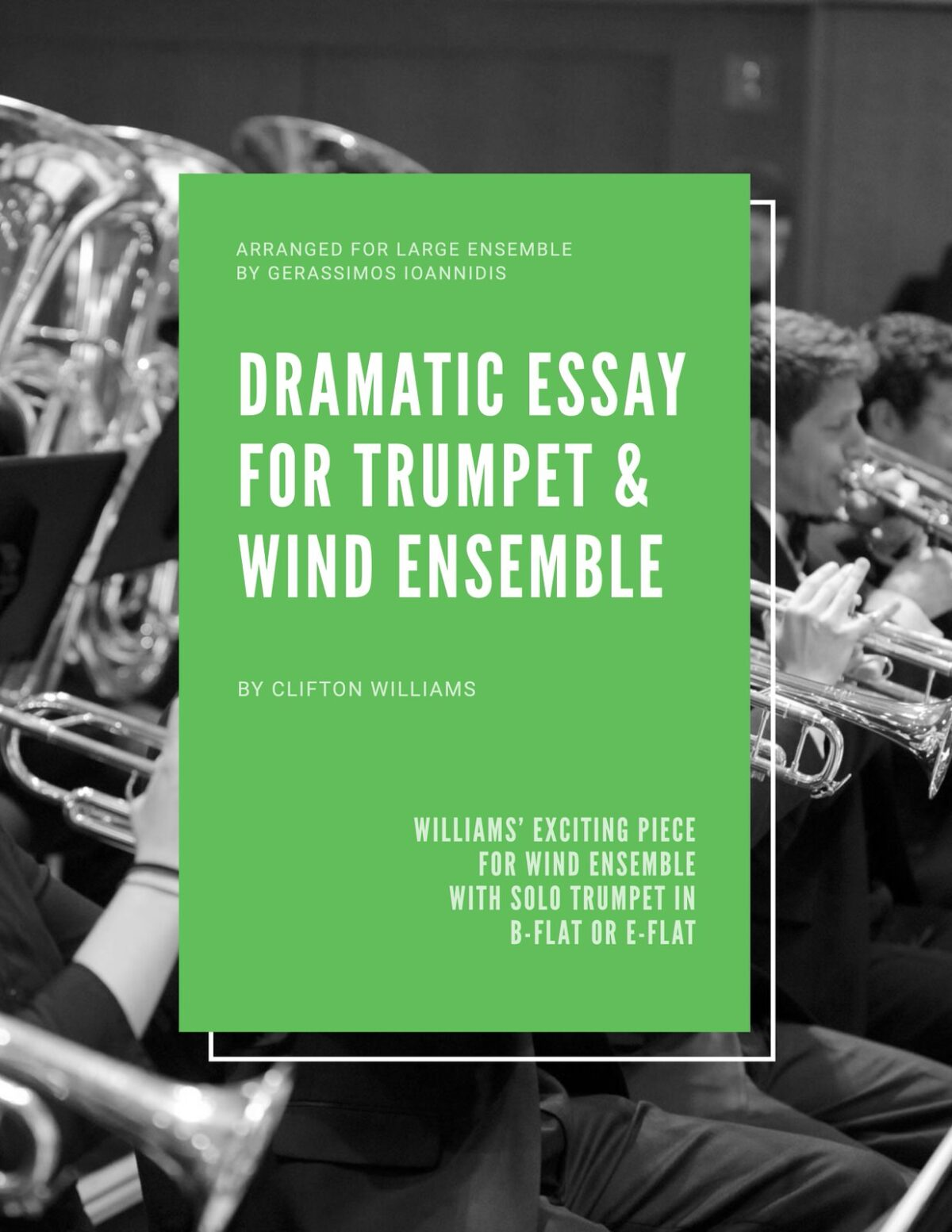 Williams, Dramatic Essay for Trumpet and Wind Ensemble-p01