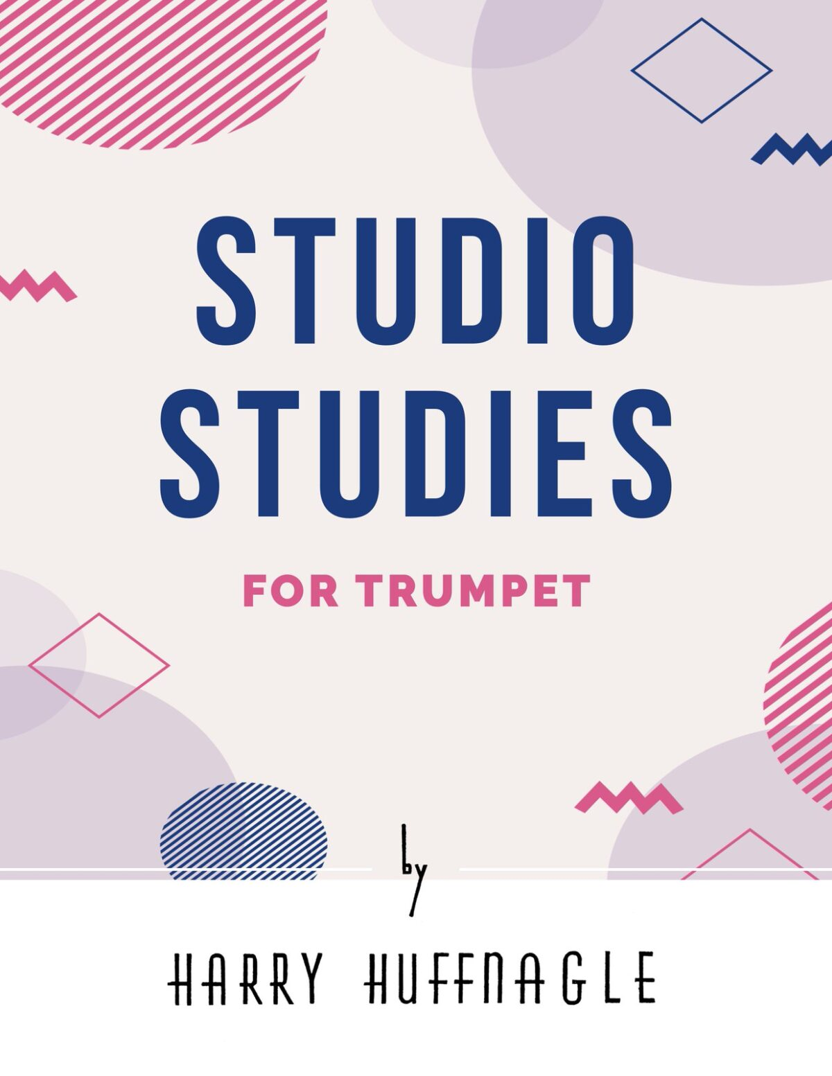 Huffnagle, Studio Studies for Trumpet-p01