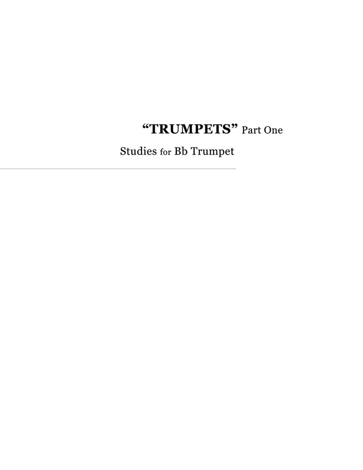 Broiles, Trumpets Studies for Bb and D Trumpet-p005