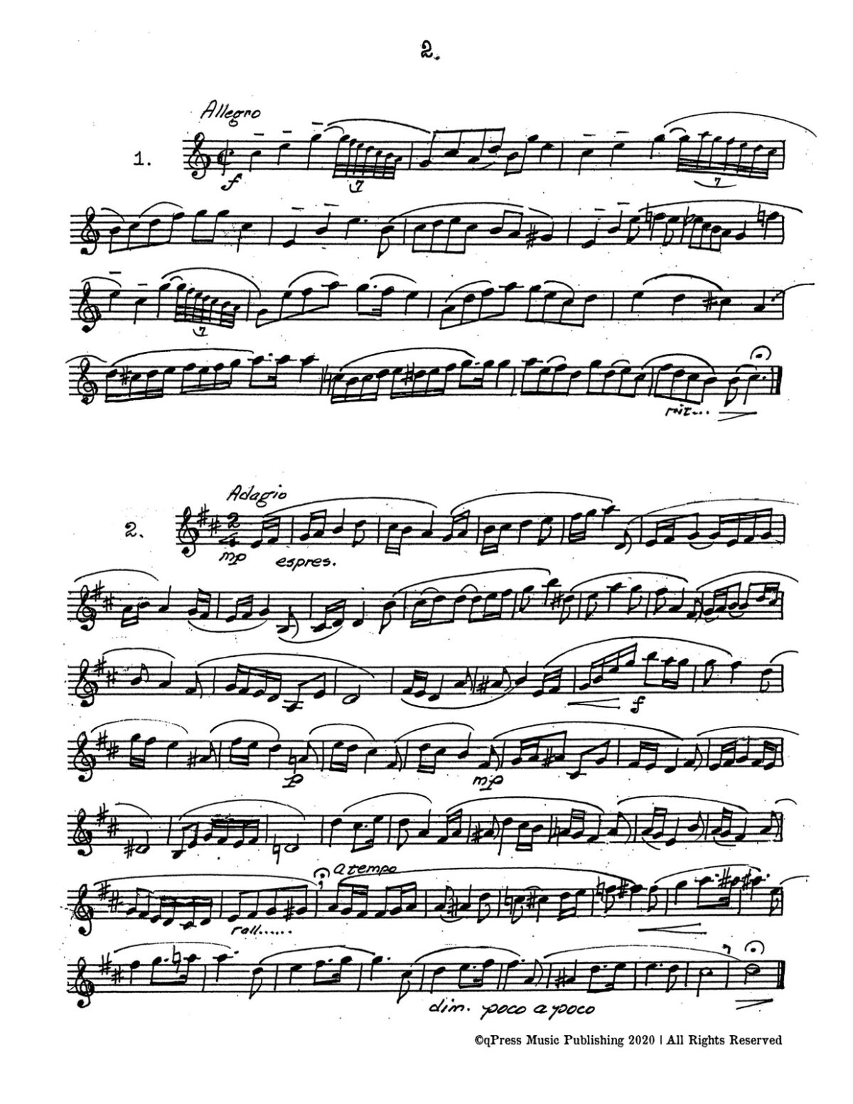 Broiles, Trumpets Studies for Bb and D Trumpet-p006