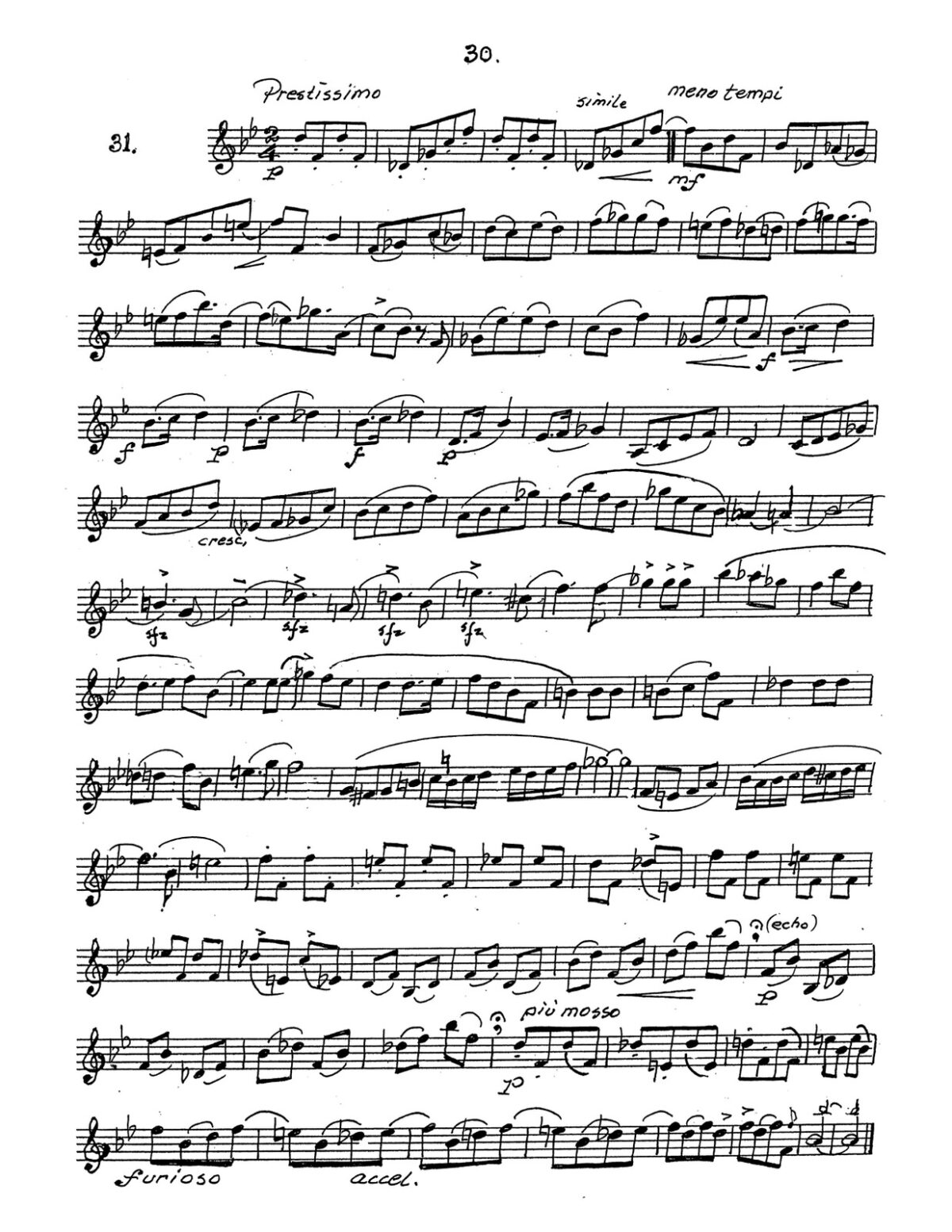Broiles, Trumpets Studies for Bb and D Trumpet-p034