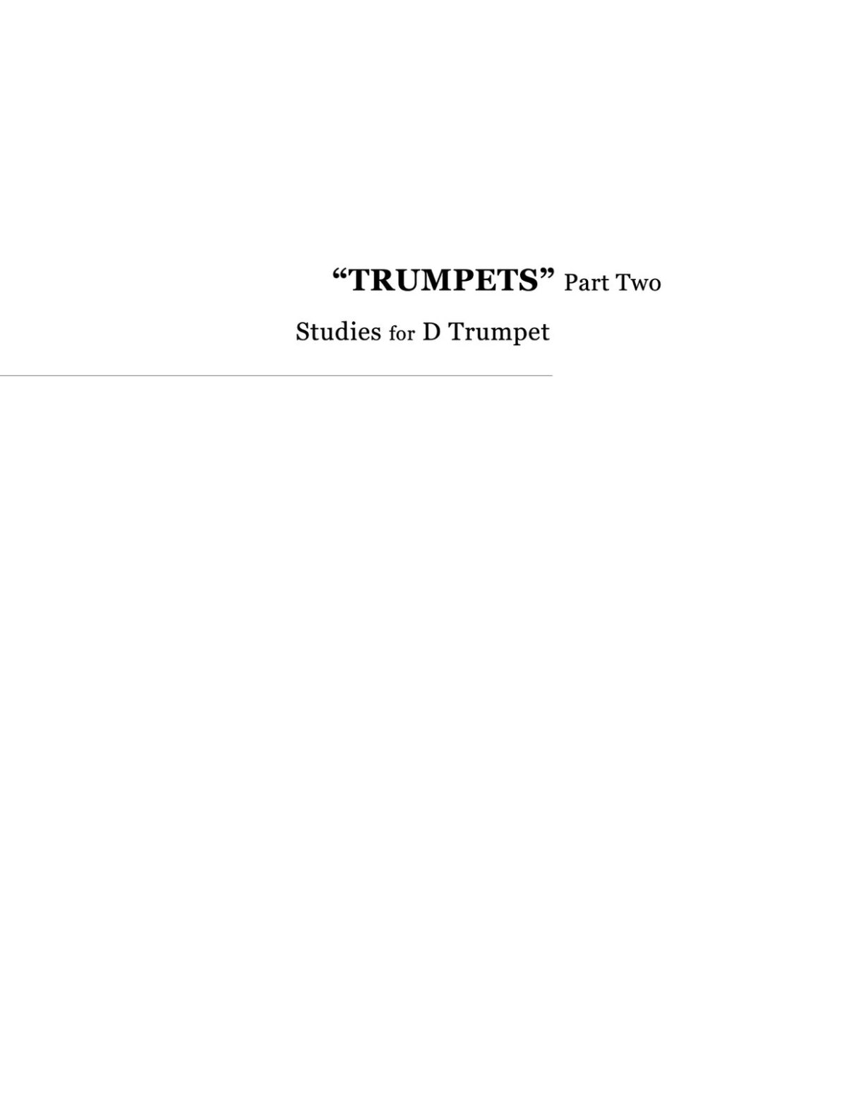 Broiles, Trumpets Studies for Bb and D Trumpet-p155