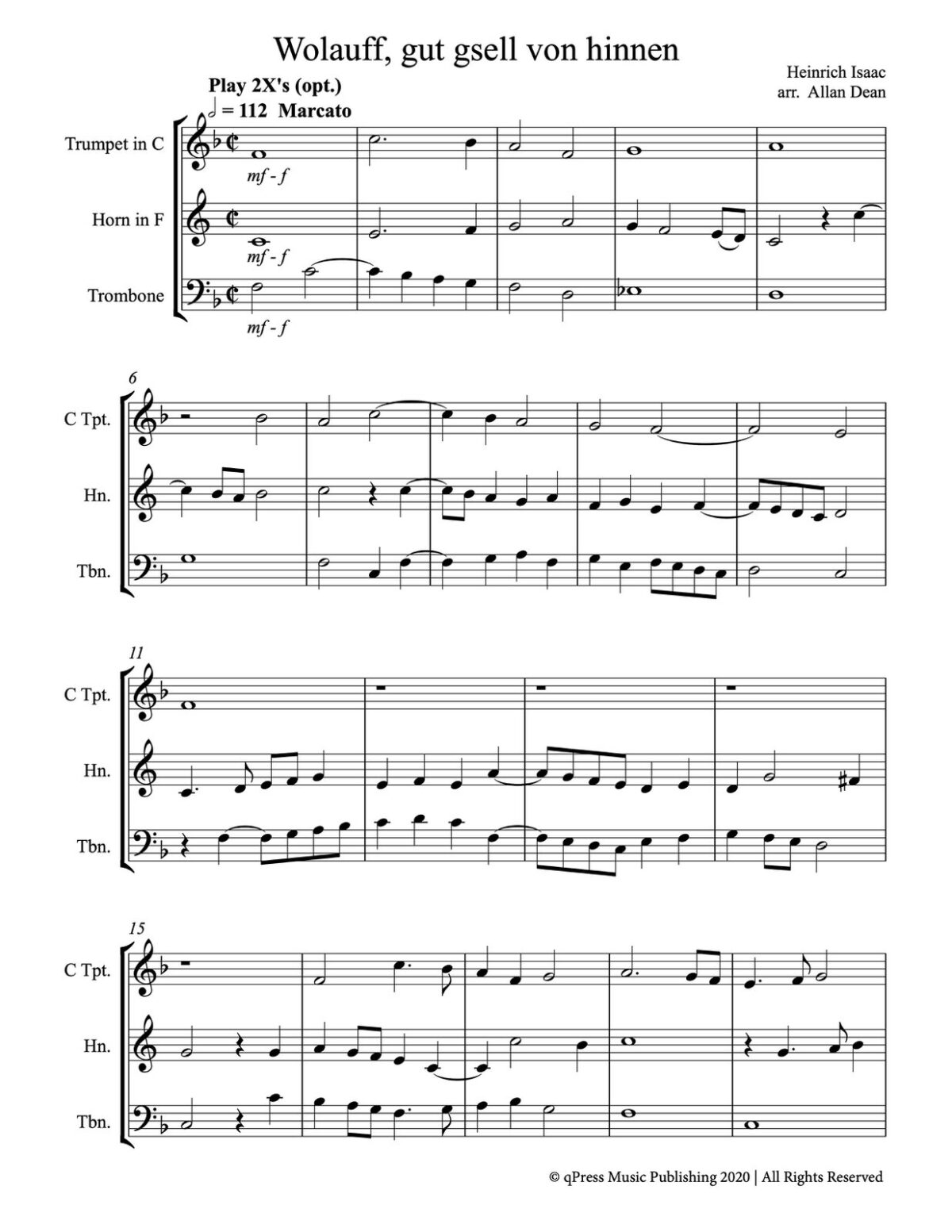 Dean, Music of Isaac (Score & Parts)-p85