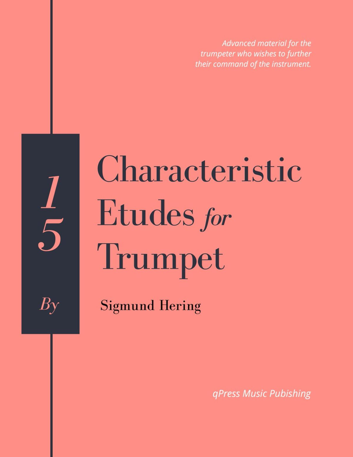 Hering, 15 Characteristic Etudes for Trumpet-p01
