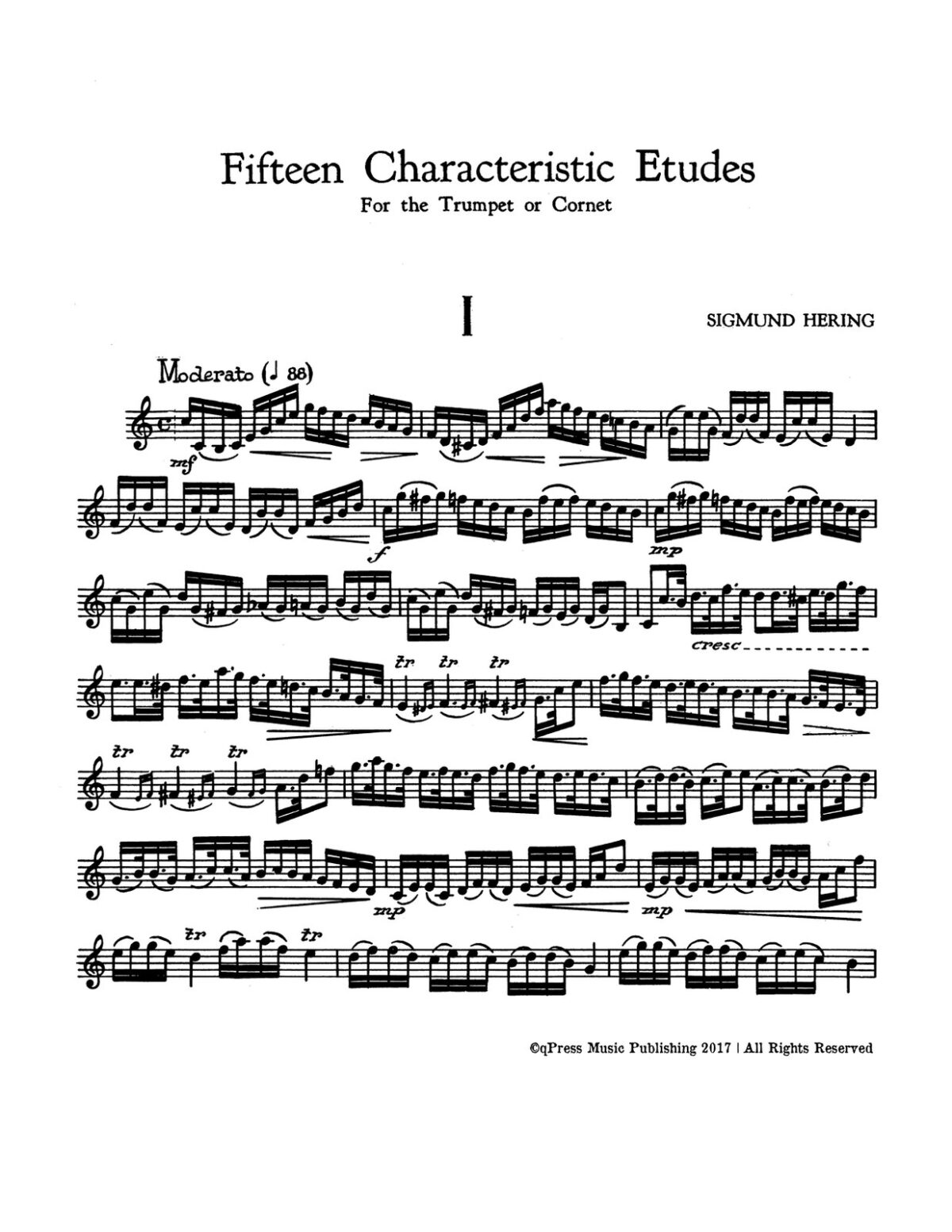Hering, 15 Characteristic Etudes for Trumpet-p04