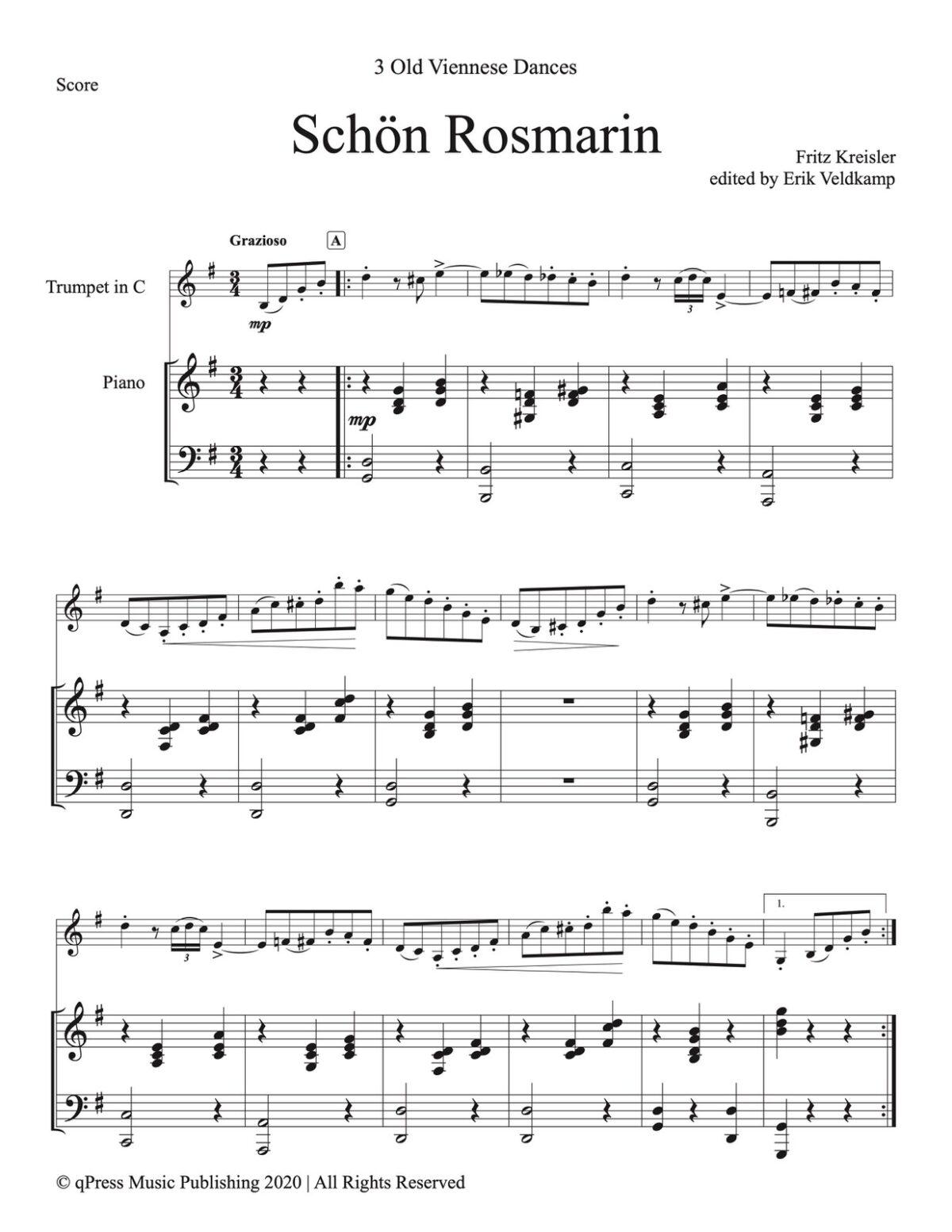 Veldkamp-Keisler, 3 Viennese Dances-p43