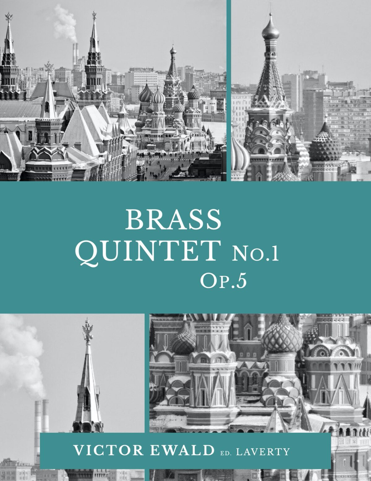 Ewald, Quintet No.1 (Score & Parts)-p01