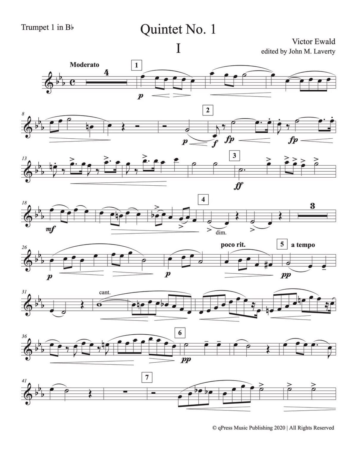 Ewald, Quintet No.1 (Score & Parts)-p25