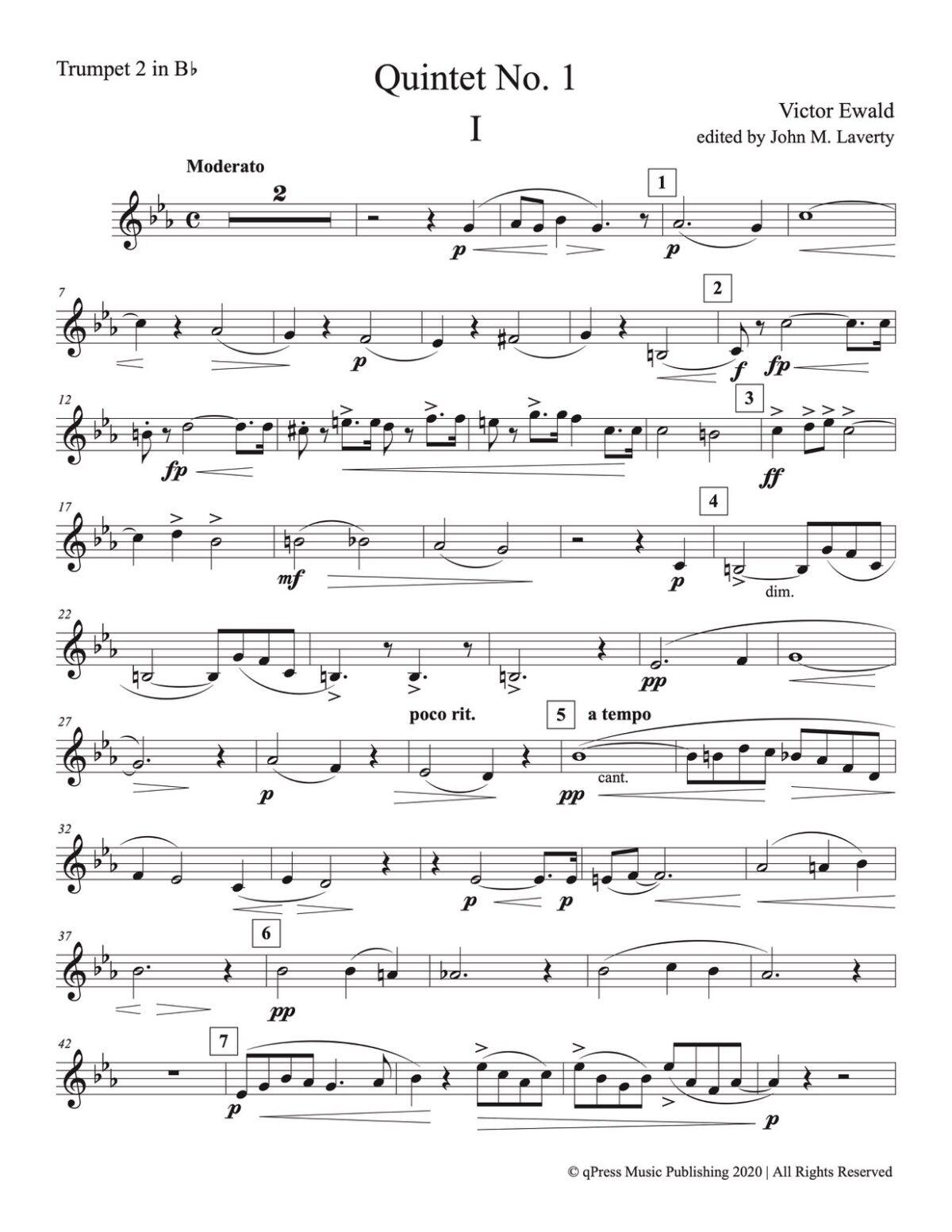 Ewald, Quintet No.1 (Score & Parts)-p41
