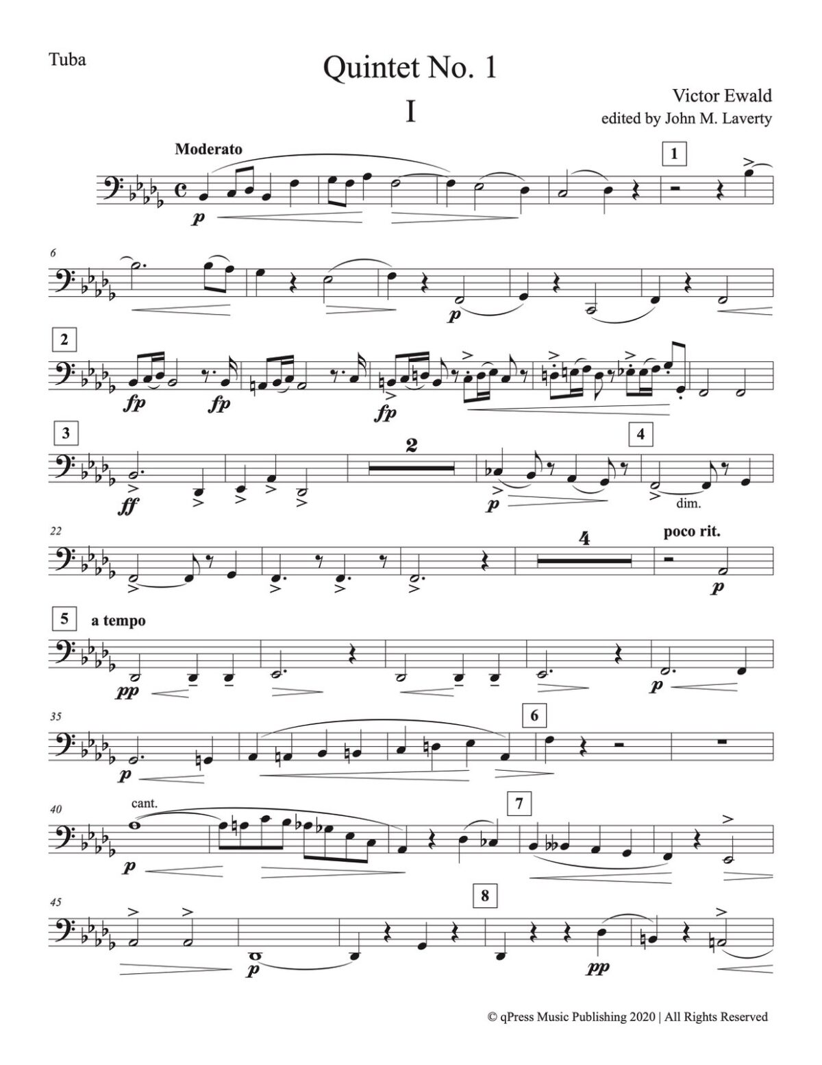 Ewald, Quintet No.1 (Score & Parts)-p65