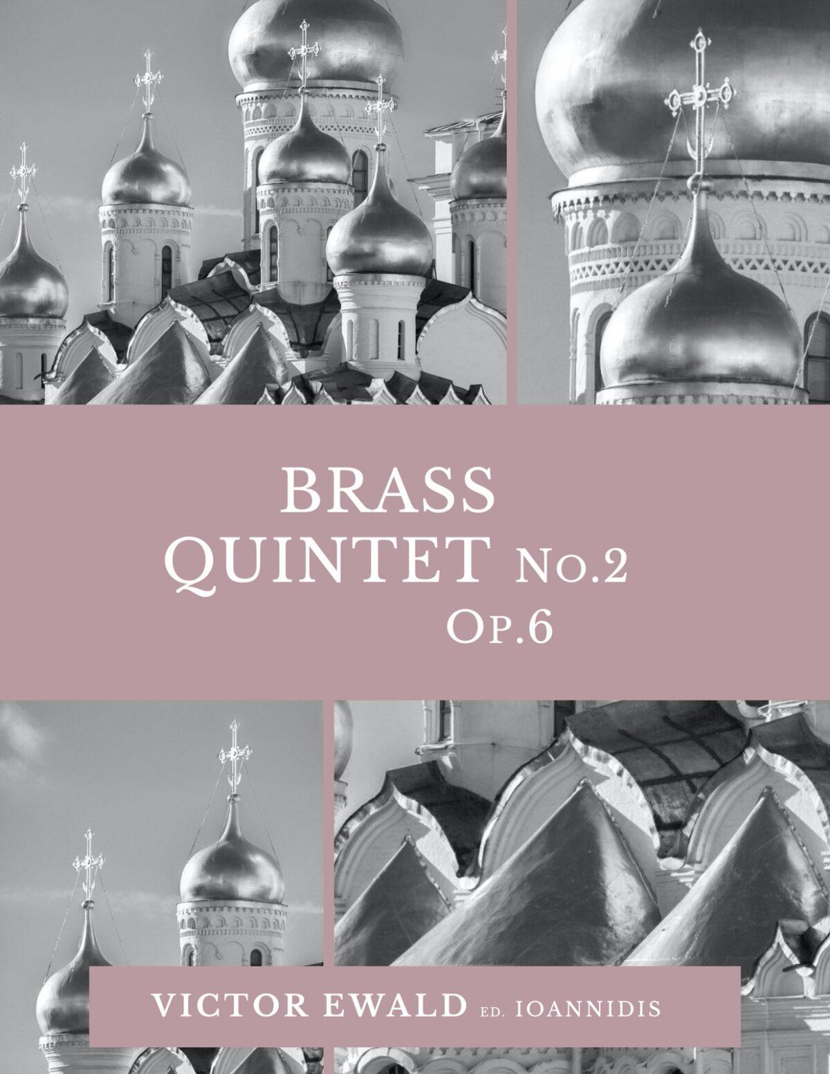 Ewald, Quintet No.2 (Score & Parts)-p001