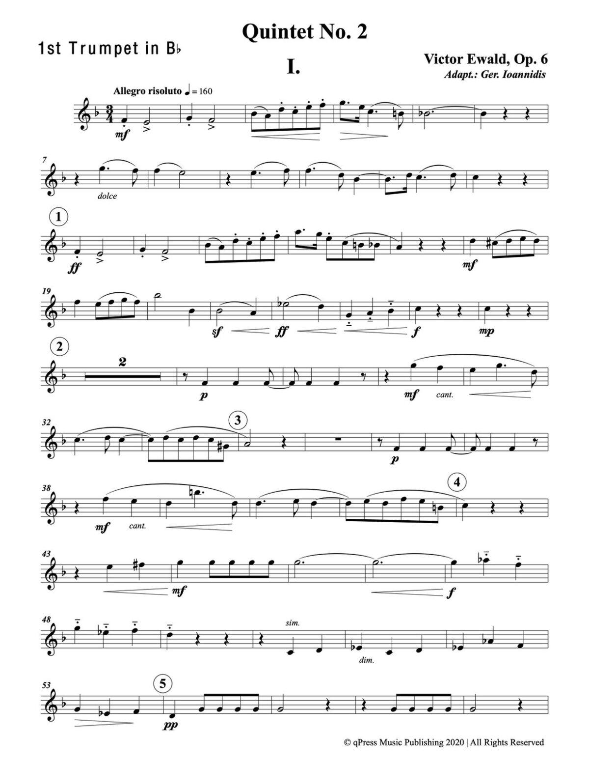 Ewald, Quintet No.2 (Score & Parts)-p033