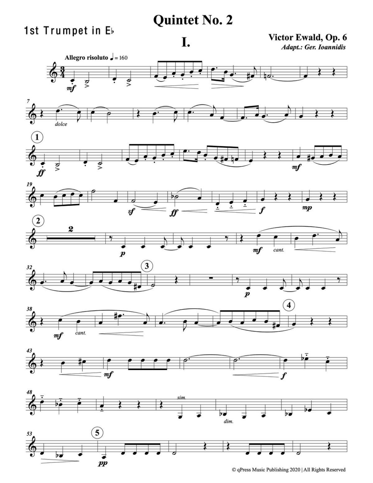 Ewald, Quintet No.2 (Score & Parts)-p047