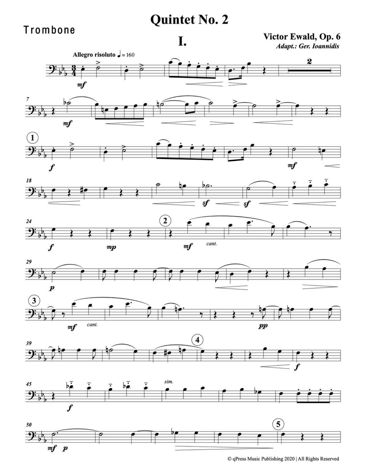 Ewald, Quintet No.2 (Score & Parts)-p089